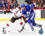 Toronto Maple leafs, Ottawa Senators - Joffrey Lupul, Erik Karlsson Photo Photo