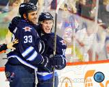 Winnepeg Jets - Dustin Byfuglien, Bryan Little Photo Photo