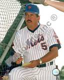 New York Mets - Davey Johnson Photo Photo