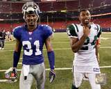 New York Jets, New York Giants - Darrelle Revis, Aaron Ross Photo Photo