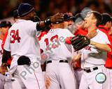 Boston Red Sox - David Ortiz, Jason Bay Photo Photo
