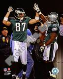 Philadelphia Eagles - Brian Westbrook, Brent Celek Photo Photo