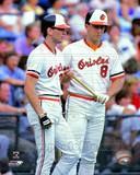 Baltimore Orioles - Cal Ripken Jr., Billy Ripken Photo Photo