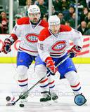 Montreal Canadiens - Jeff Halpern, Tomas Plekanec Photo Photo