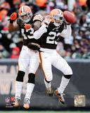 Cleveland Browns - Joe Haden, T.J. Ward Photo Photo