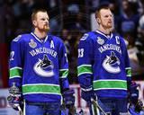 Vancouver Canucks - Daniel Sedin, Henrik Sedin Photo Photo