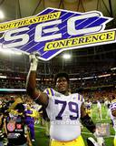 LSU Tigers - Herman Johnson Photo Photo