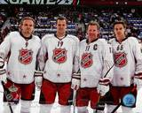 Ottawa Senators - Jason Spezza, Daniel Alfredsson, Milan Michalek, Erik Karlsson Photo Photo
