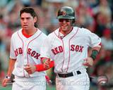 Boston Red Sox - Jacoby Ellsbury, Dustin Pedroia Photo Photo