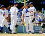 Los Angeles Dodgers - James Loney, Matt Kemp Photo Photo