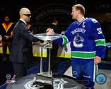 Vancouver Canucks - Henrik Sedin, Manny Malhotra Photo Photo