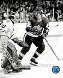 Boston Bruins, Los Angeles Kings - Gerry Cheevers, Marcel Dionne Photo Photo