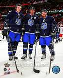 Toronto Maple leafs - Dion Phaneuf, Joffrey Lupul, Phil Kessel Photo Photo