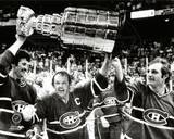 Montreal Canadiens - Guy Lafleur, Yvan Cournoyer, Yvon Lambert Photo Photo