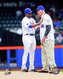New York Mets - Johan Santana, Roger L. Craig Photo Photo