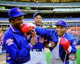 New York Mets - Darryl Strawberry, Dwight Gooden Photo Photo