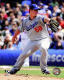 Los Angeles Dodgers - Chad Billingsley Photo Photo
