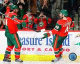 Minnesota Wild - Guillaume Latendresse, Martin Havlat Photo Photo