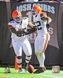 Cleveland Browns - D'quell Jackson, Ishmaa'ily Kitchen Photo Photo