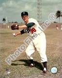 Brooklyn Dodgers - Dick Williams Photo Photo