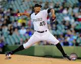 Colorado Rockies - Jhoulys Chacin Photo Photo