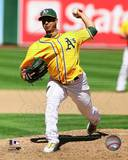 Oakland Athletics - Gio Gonzalez Photo Photo