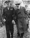 Historical - Dwight Eisenhower, Winston Churchill Photo Photo