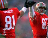 San Francisco 49ers - Dwight Clark, Russ Francis Photo Photo