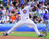 Chicago Cubs - Edwin Jackson Photo Photo
