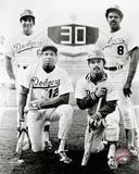 Los Angeles Dodgers - Dusty Baker, Steve Garvey, Reggie Smith, Ron Cey Photo Photo