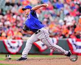 Texas Rangers - Derek Holland Photo Photo