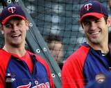 Minnesota Twins - Joe Mauer, Justin Morneau Photo Photo