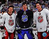 Pittsburgh Penguins - Evgeni Malkin, Kris Letang, James Neal Photo Photo