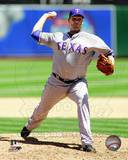Texas Rangers - Colby Lewis Photo Photo