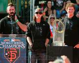 San Francisco Giants - Tim Lincecum, Matt Cain, Brian Wilson Photo Photo