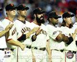 San Francisco Giants - Tim Lincecum, Pablo Sandoval, Matt Cain, Ryan Vogelsong, Brian Wilson Photo Photo