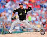Pittsburgh Pirates - Francisco Liriano Photo Photo