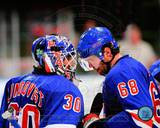 New York Rangers - Jaromir Jagr, Henrik Lundqvist Photo Photo