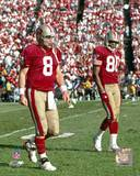 San Francisco 49ers - Steve Young, Jerry Rice Photo Photo