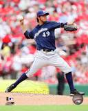 Milwaukee Brewers - Yovani Gallardo Photo Photo