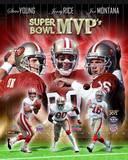 San Francisco 49ers - Steve Young, Jerry Rice, Joe Montana Photo Photo