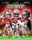 San Francisco 49ers - Steve Young, Jerry Rice, Joe Montana Photo Photo