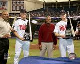 Minnesota Twins - Rod Carew, Tony Oliva, Joe Mauer, Justin Morneau Photo Photo