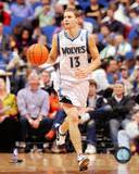 Minnesota Timberwolves - Luke Ridnour Photo Photo