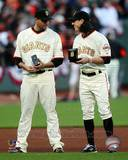 San Francisco Giants - Tim Lincecum, Jonathan Sanchez Photo Photo
