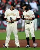 San Francisco Giants - Tim Lincecum, Jonathan Sanchez Photo Photo