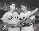 Boston Red Sox, Pittsburgh Pirates - Ted Williams, Ralph Kiner Photo Photographie