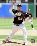 Oakland Athletics - Trevor Cahill Photo Photo