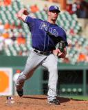 Tampa Bay Rays - Kyle Farnsworth Photo Photo