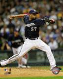 Milwaukee Brewers - Francisco Rodriguez Photo Photo